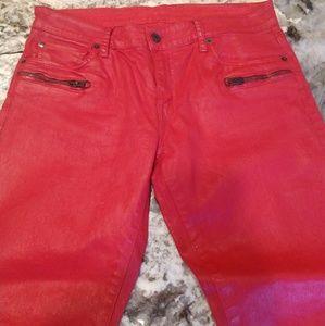 Ralph Lauren wax jeans